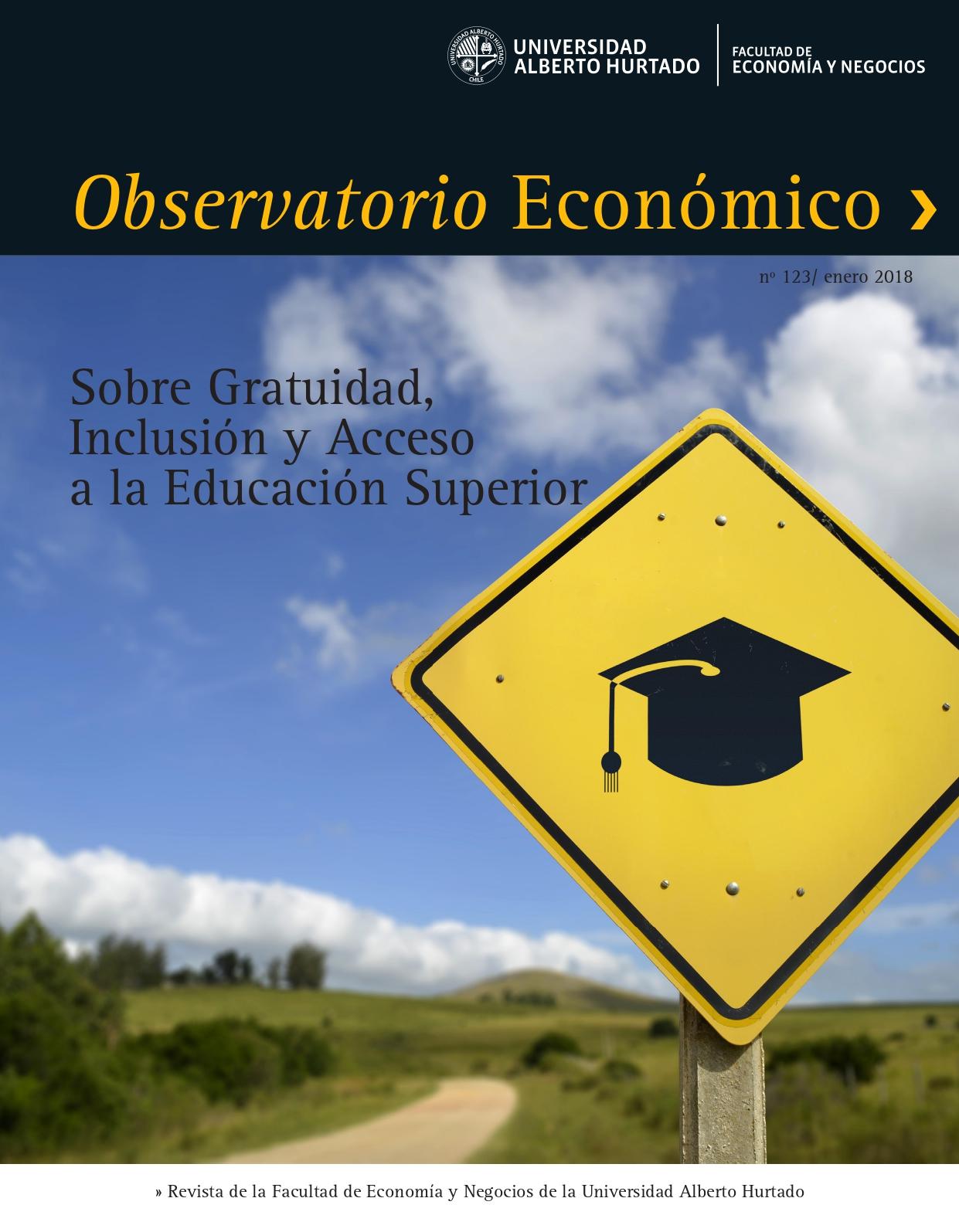 """Título del número de la revista : """"Sobre Gratuidad, Inclusión y Acceso a la Educación Superior"""""""