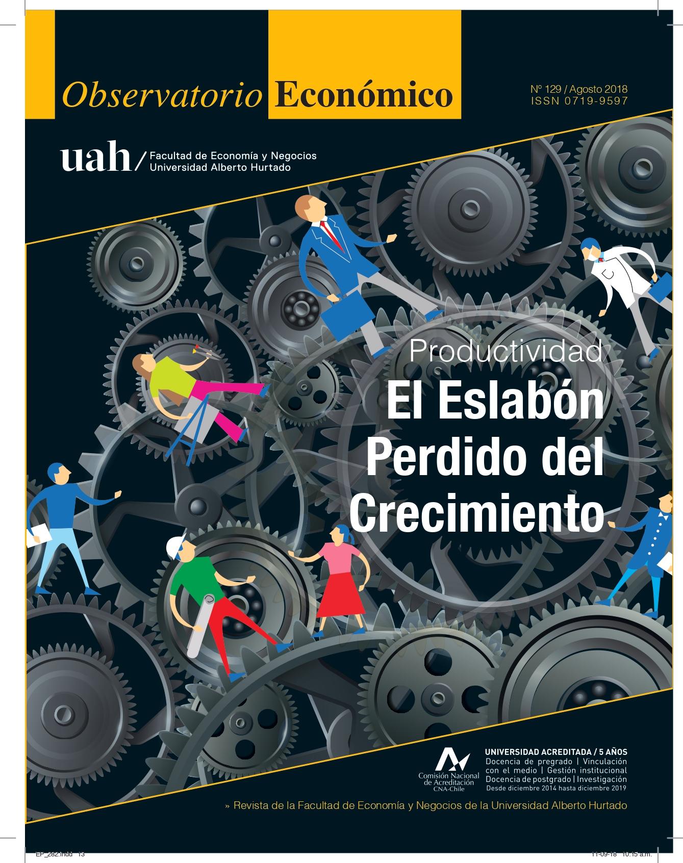 """Título del número de la revista : """"Productividad : El Eslabón Perdido del Crecimiento"""""""