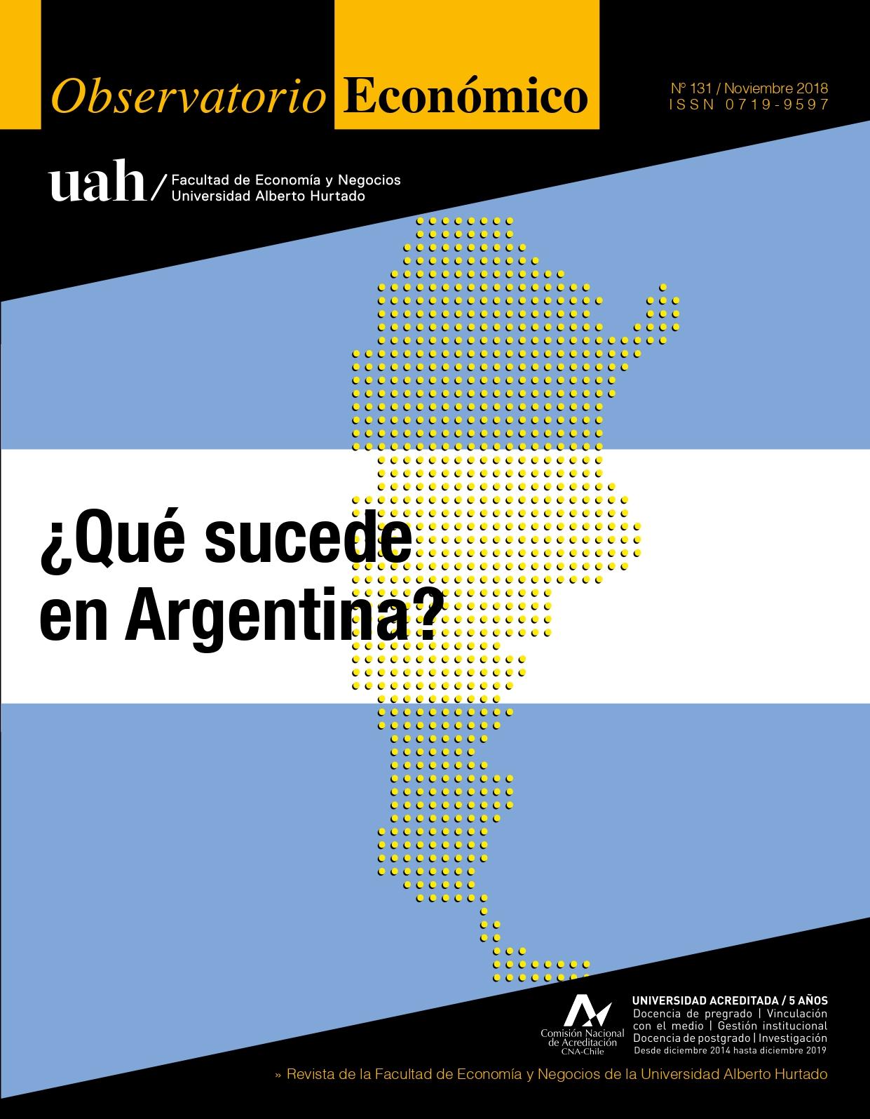 """Título del número de la revista : """"¿Qué sucede en Argentina?"""""""