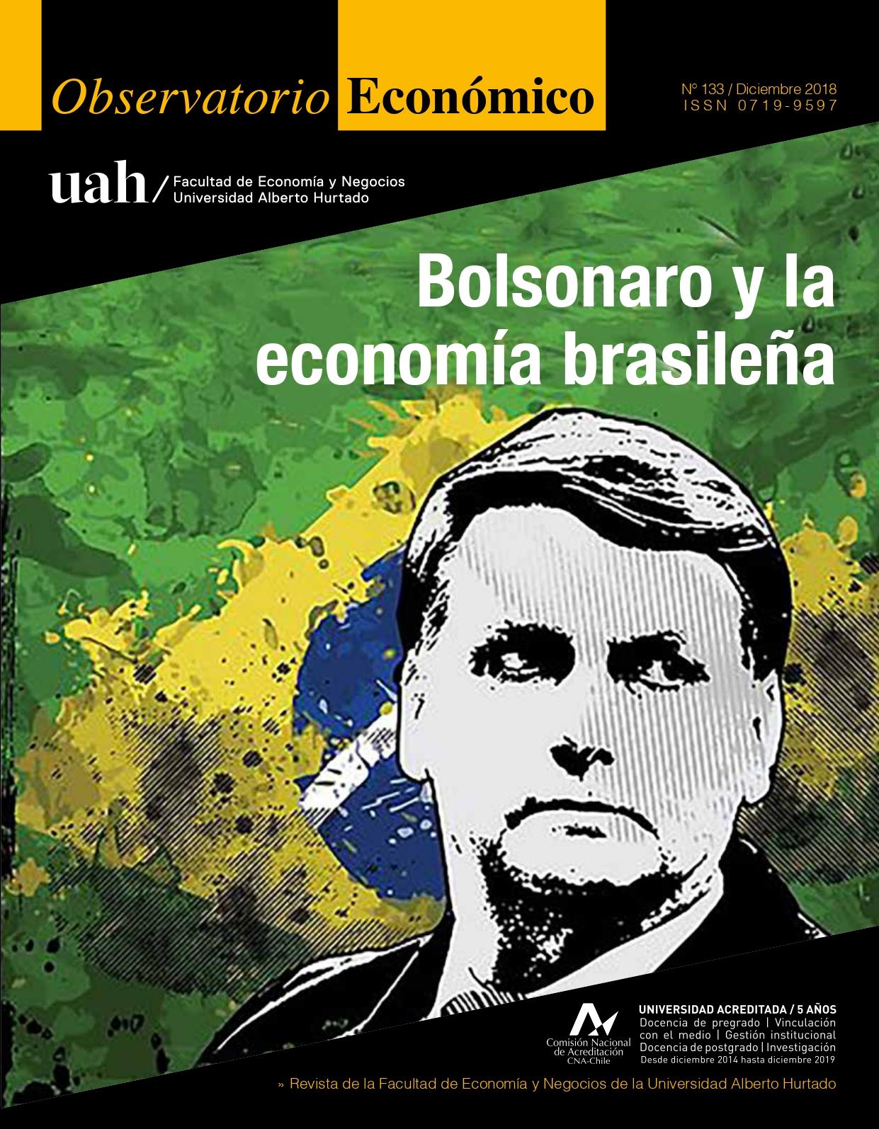 """Título del número de la revista : """"Bolsonaro y la economía brasileña"""""""