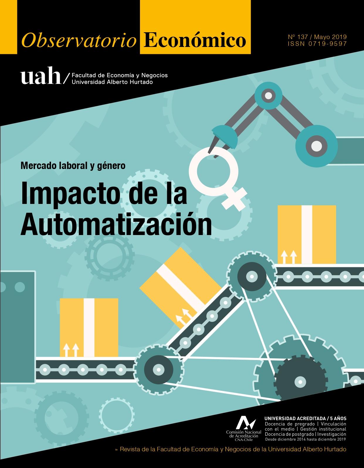 """Título del número de la revista : """"Mercado laboral y género : Impacto de la Automatización"""""""