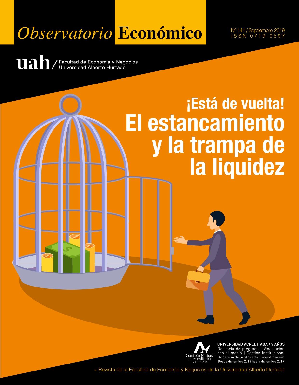 """Título del número de la revista : """"¡Está de vuelta! : El estancamiento y la trampa de la liquidez"""""""
