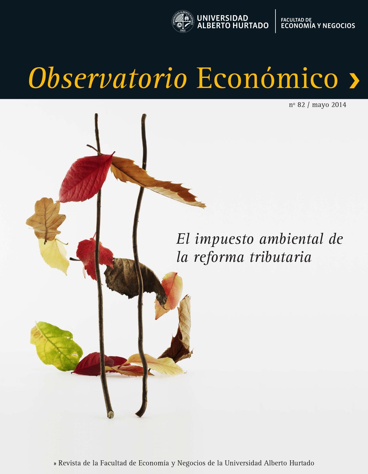 """Título del número de la revista : """"El impuesto ambiental de la reforma tributaria"""""""