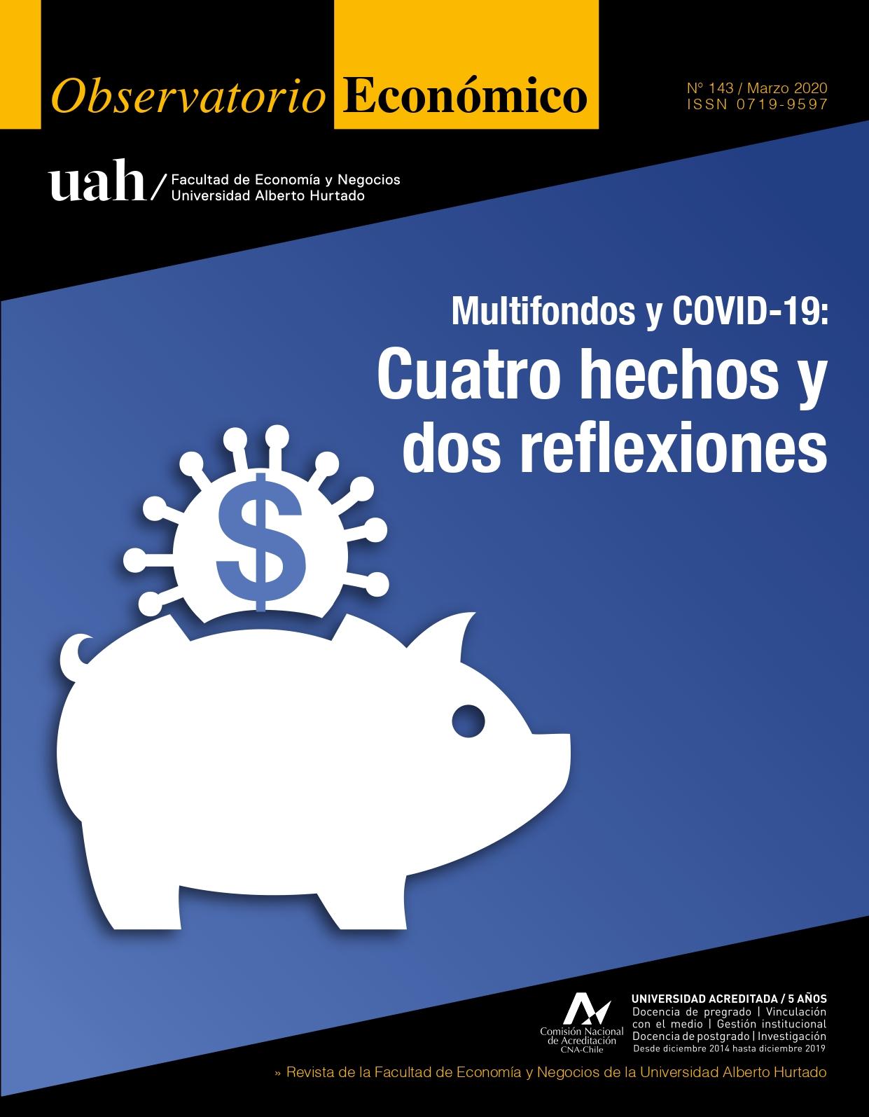 """Título del número: """"Multifondos y COVID-19: Cuatro hechos y dos reflexiones"""""""