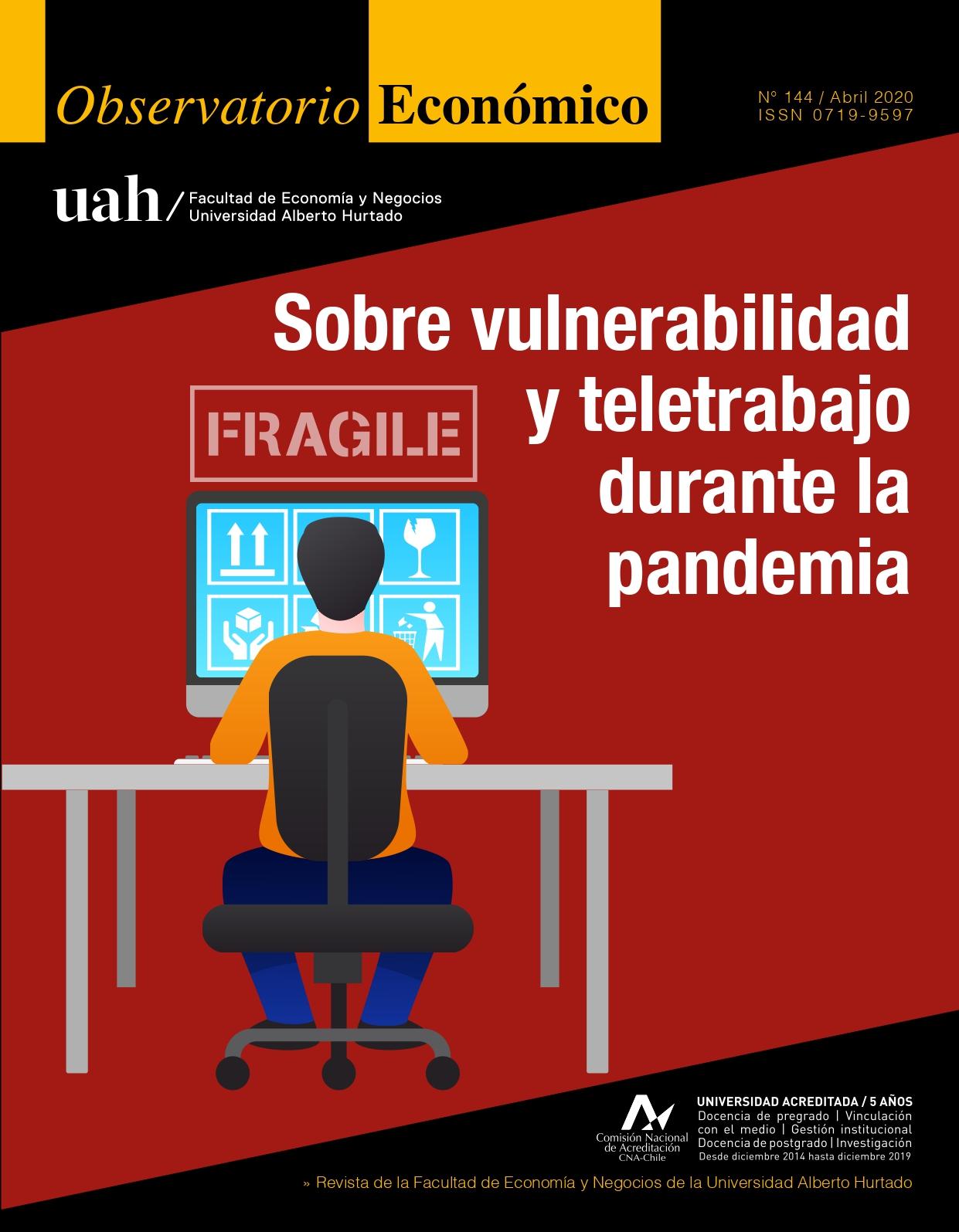 """Título del número: """"Sobre vulnerabilidad y teletrabajo durante la pandemia"""""""