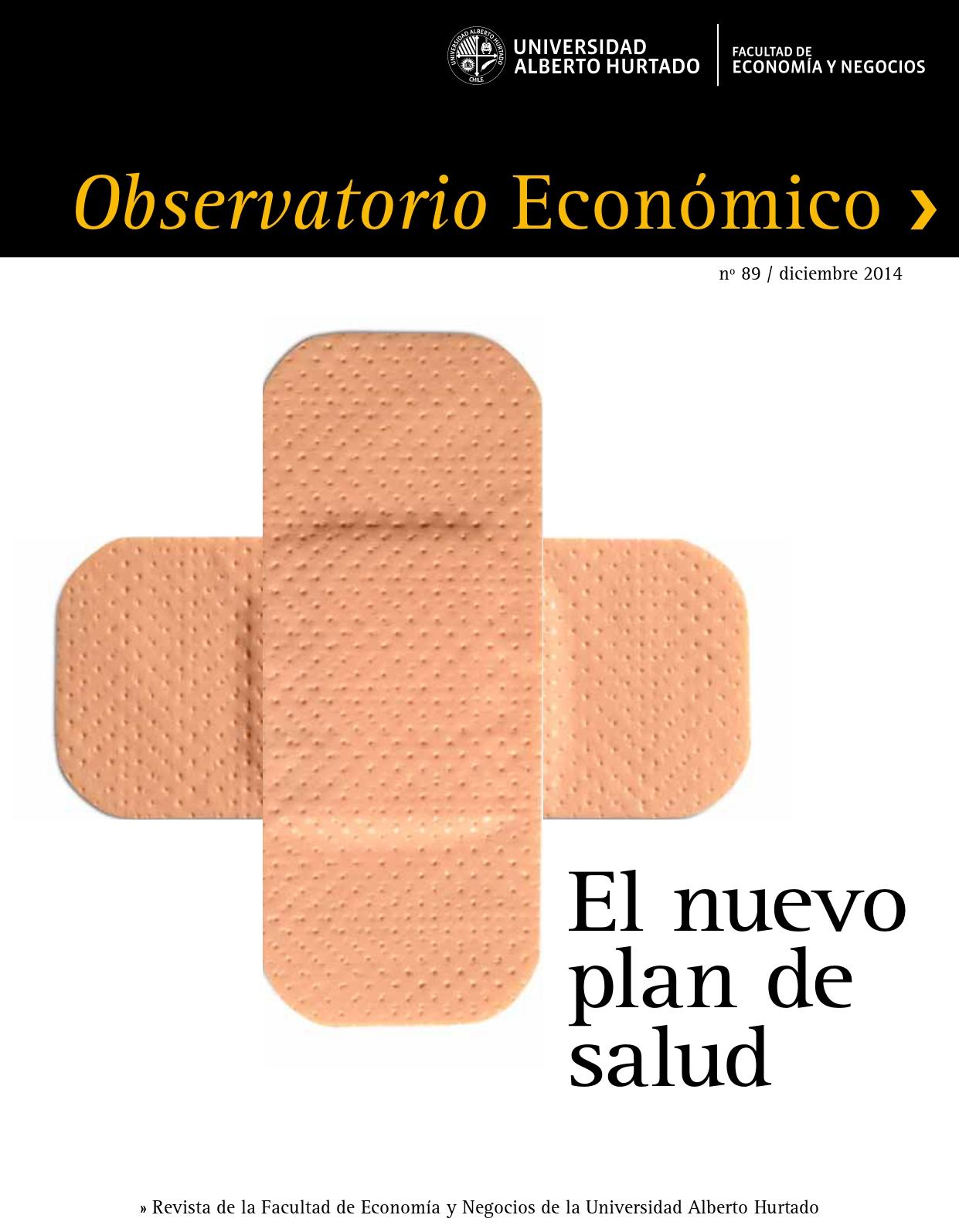 """Título del número de la revista : """"El nuevo plan de salud"""""""