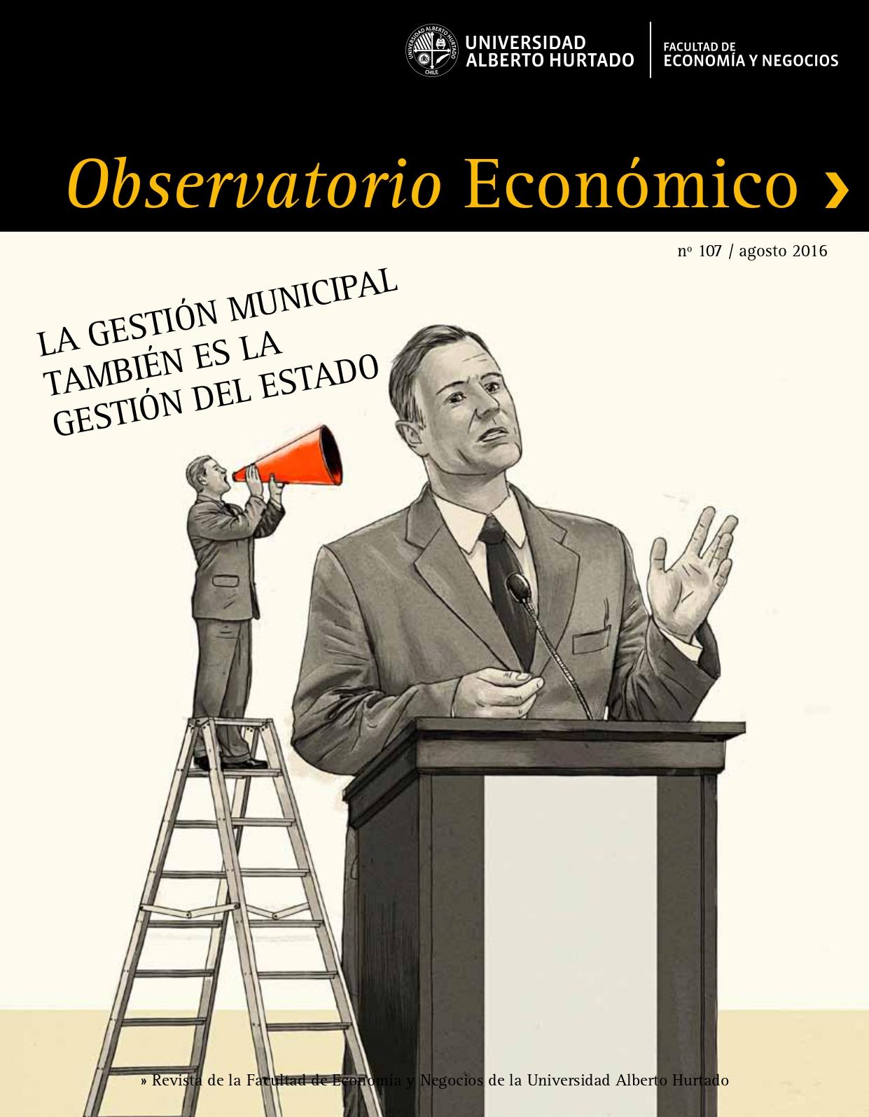 """Título del número de la revista : """"La gestión municipal también es la gestión del Estado"""""""