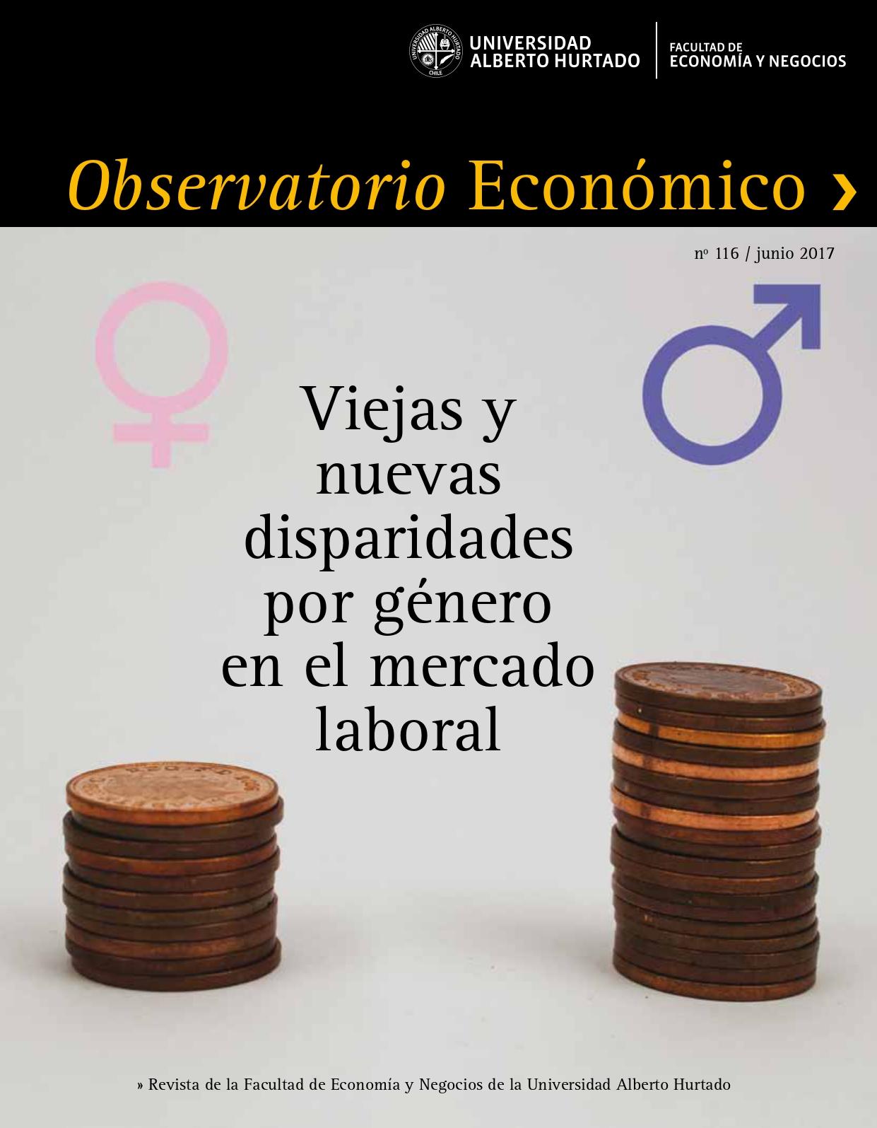 """Título del número de la revista : """"Viejas y nuevas disparidades por género en el mercado laboral"""""""