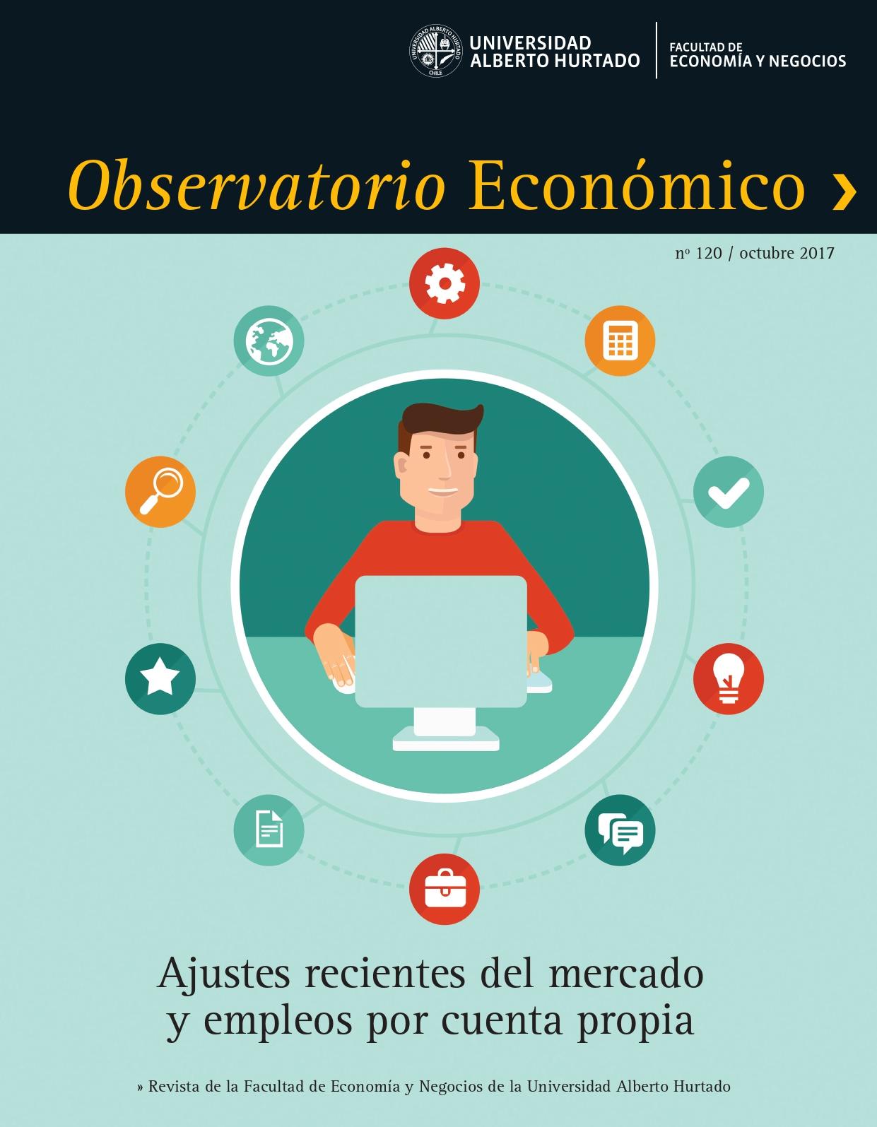 """Título del número de la revista : """"Ajustes recientes del mercado y empleos por cuenta propia"""""""