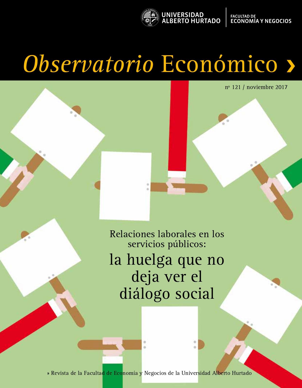 """Título del número de la revista : """"Relaciones laborales en los servicios públicos : la huelga que no deja ver el diálogo social"""""""