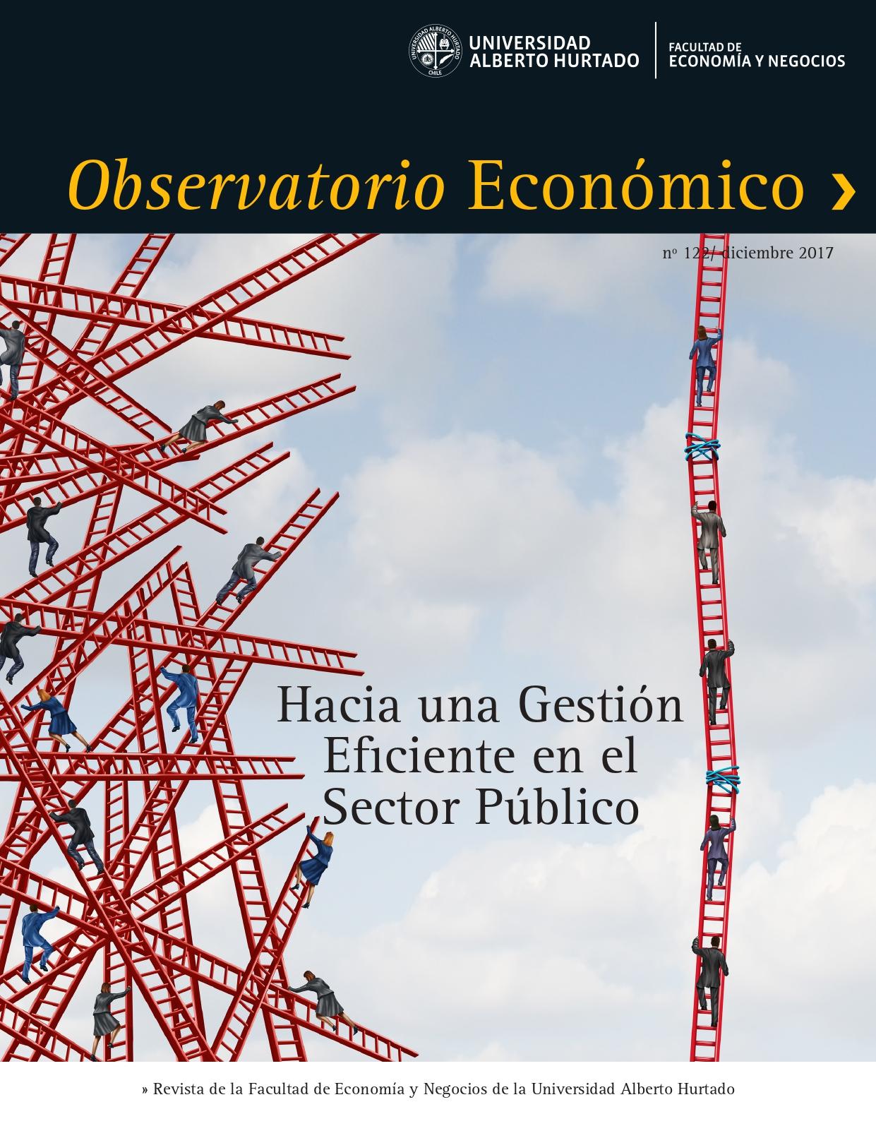 """Título del número de la revista : """"Hacia una Gestión Eficiente en el Sector Público"""""""